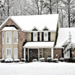 ottawa house trees in winter